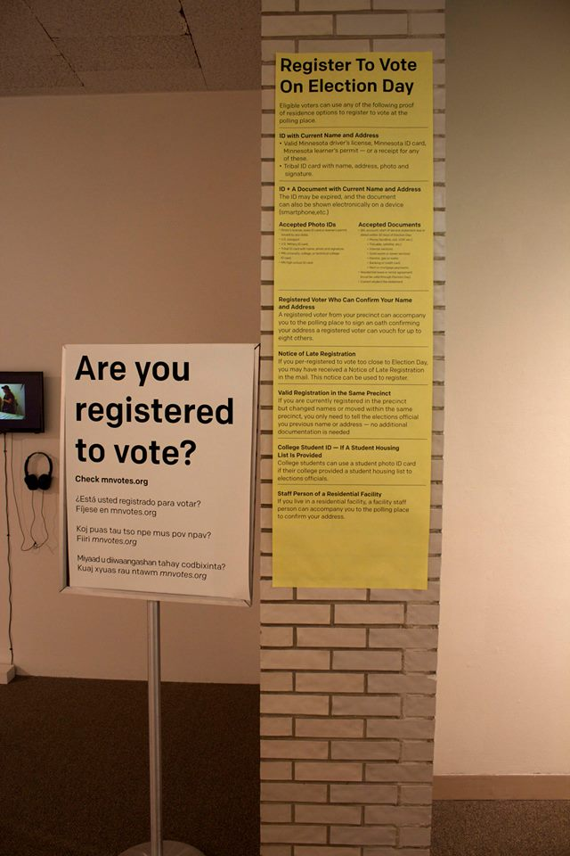 Registration signs