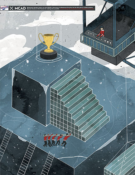 Currie.Bejamin.MN Hockey Poster